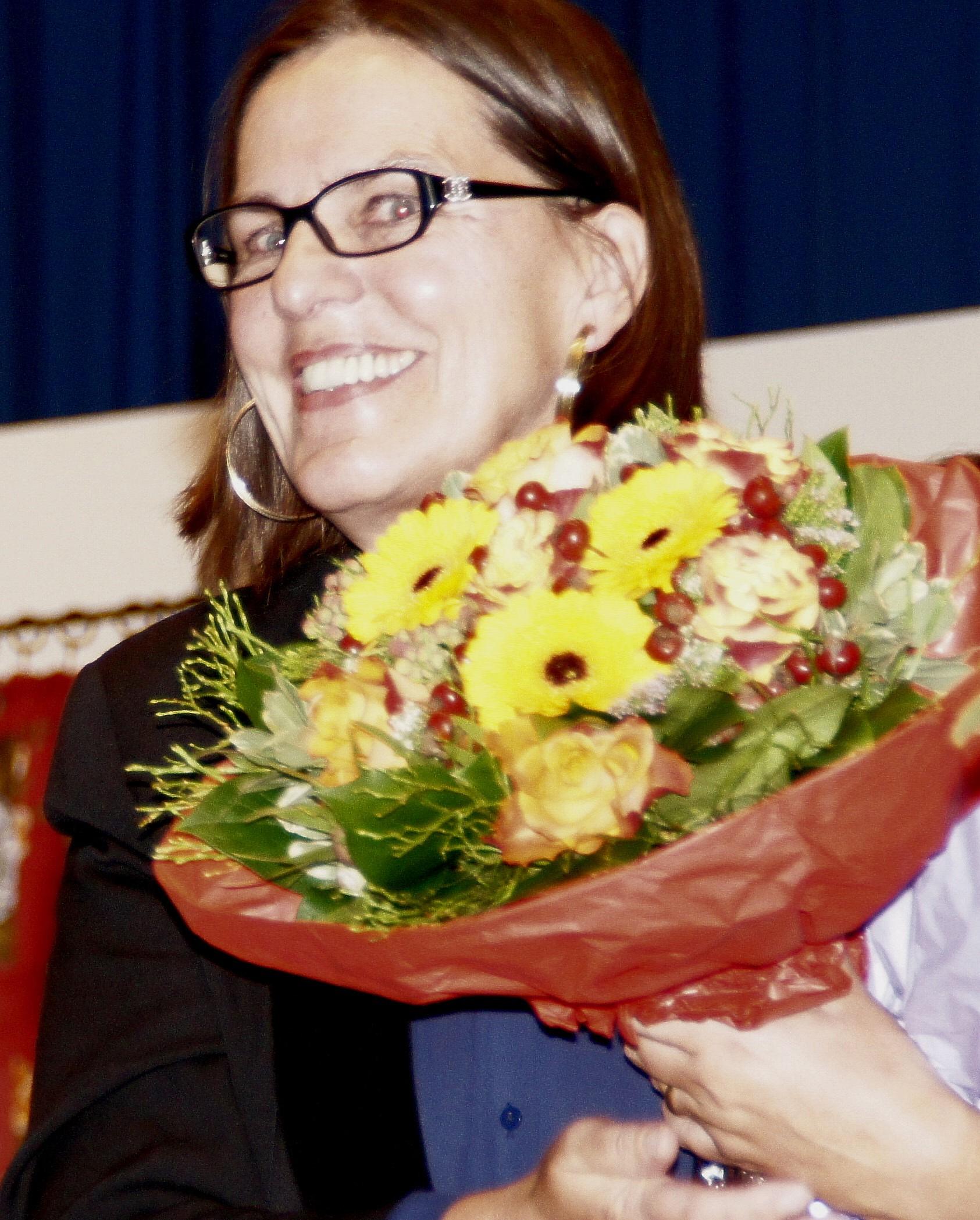 Ein Glücksfall für Gaienhofen ist die Theaterpädagogin Claudia Godart aus Gaienhofen, die maßgeblichen Anteil am Erfolg des Theaterwochenendes hat.